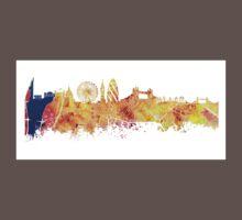 London skyline map city Tower One Piece - Short Sleeve