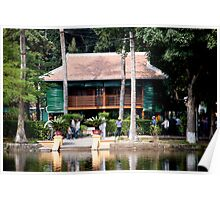 Ho Chi Minh House Poster