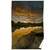Sunrise Over Stanage Poster