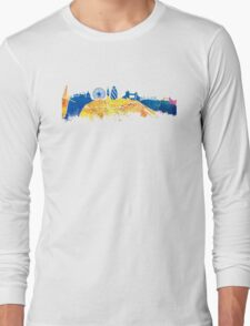 London skyline map city Tamiza Long Sleeve T-Shirt