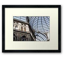 Galleria Framed Print