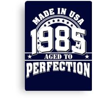 MADE IN USA 1985 Canvas Print
