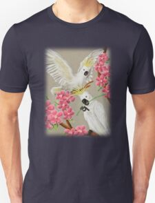 Cockatoo With Flowers T-Shirt