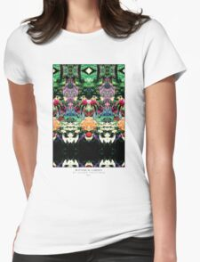 BOTANICAL GARDEN Womens Fitted T-Shirt