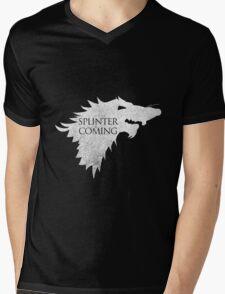 Splinter is Coming Mens V-Neck T-Shirt