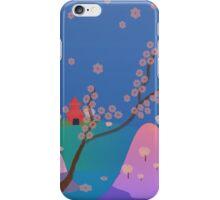 Hanami Season in Japan iPhone Case/Skin