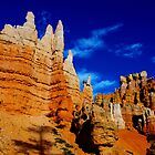 Beautiful towers, Bryce, Utah by Claudio Del Luongo