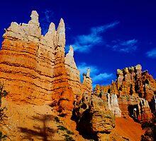 Beautiful towers, Bryce, Utah by Claudio Del Luongo