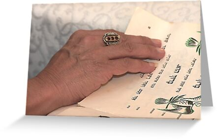 Reading the passover Hagadah  by PhotoStock-Isra