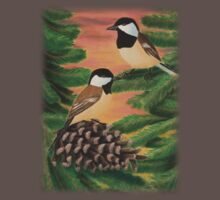 Black-capped Chickadee One Piece - Short Sleeve