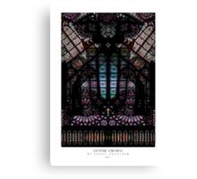 GOTHIC CROWN Canvas Print