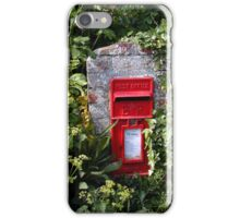 Cornish letterbox iPhone Case/Skin
