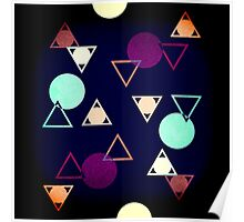 simpe geometry inspiration Poster