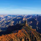 Grand Canyon from the North Rim, Arizona by Claudio Del Luongo
