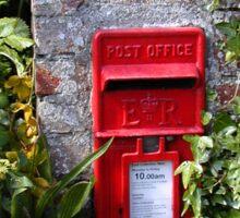 Cornish letterbox Sticker