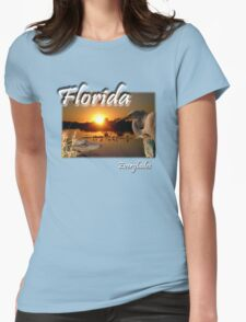 Florida Everglades Womens Fitted T-Shirt