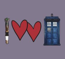 I love Doctor Who Kids Clothes