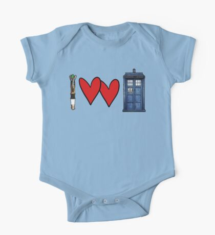 I love Doctor Who One Piece - Short Sleeve
