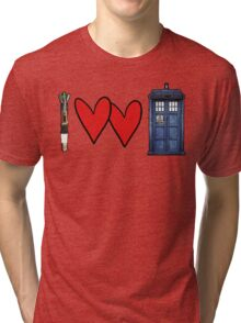 I love Doctor Who Tri-blend T-Shirt