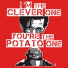 Doctor Who clever potato by Bloodysender