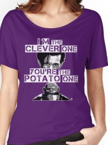 Doctor Who clever potato Women's Relaxed Fit T-Shirt