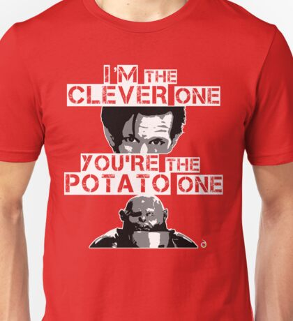 Doctor Who clever potato Unisex T-Shirt