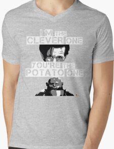 Doctor Who clever potato Mens V-Neck T-Shirt