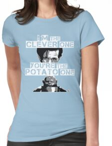 Doctor Who clever potato Womens Fitted T-Shirt