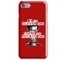 Doctor Who clever potato iPhone Case/Skin