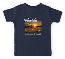 Florida (Airboat Rides in the Everglades) Kids Tee