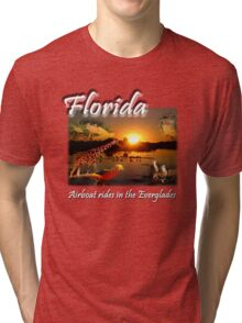 Florida (Airboat Rides in the Everglades) Tri-blend T-Shirt