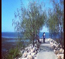 A walk along the beach by aussiecandice