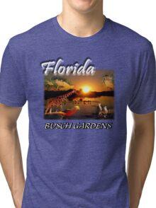 Florida (Busch Gardens) Tri-blend T-Shirt