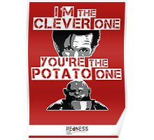 Doctor Who clever potato Poster