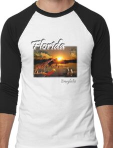Florida Everglades Men's Baseball ¾ T-Shirt
