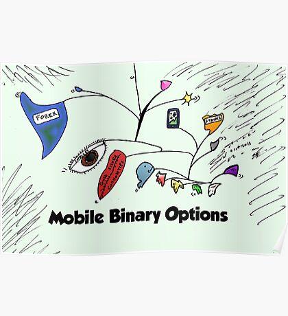 Calder inspired mobile binary options comic Poster