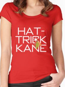Hat-Trick Kane Women's Fitted Scoop T-Shirt