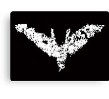 Batman 'Chalk Bat Signal' from The Dark Knight Rises Canvas Print