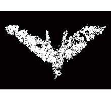 Batman 'Chalk Bat Signal' from The Dark Knight Rises Photographic Print