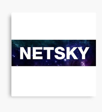 NETSKY Canvas Print