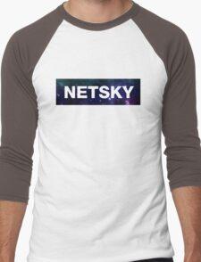 NETSKY Men's Baseball ¾ T-Shirt