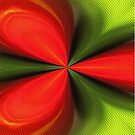 Abstract Red And Green Design by SmilinEyes