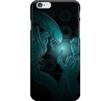 In Time and Space, No One Can Hear You Scream iPhone Case/Skin