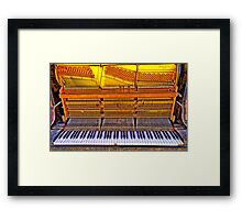 Old Tunes - The HDR Experience Framed Print