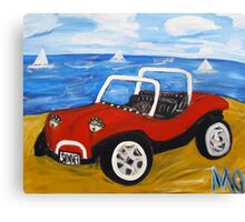 dune buggy summer Canvas Print
