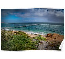 Port Noarlunga Beach 1 Poster
