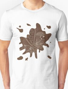 Abstract floral pattern T-Shirt