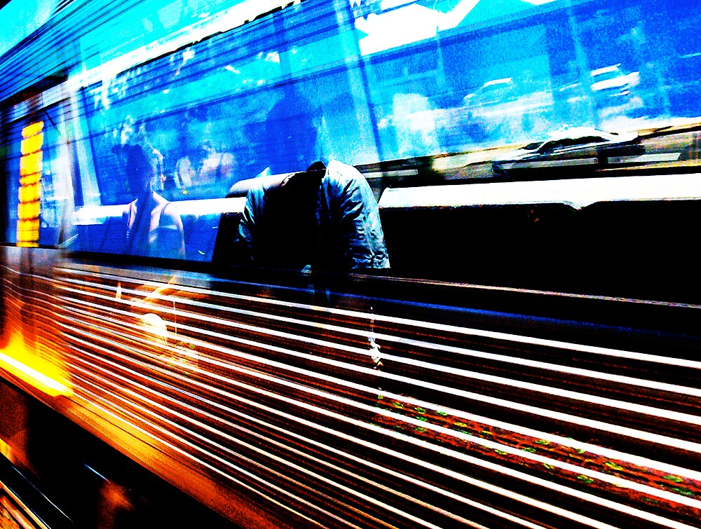 Let's Get On Fire On Board The Train  by Robert Phillips