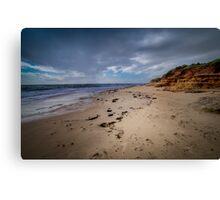 Port Noarlunga Beach  South Australia 5 Canvas Print