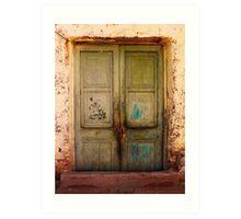 DOORS OF TIME [30] Art Print